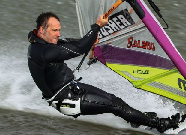 Farrel O'Shea speed windsurfing