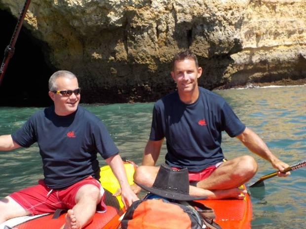 Hutch SUP Wear's Simon at Algarve SUP