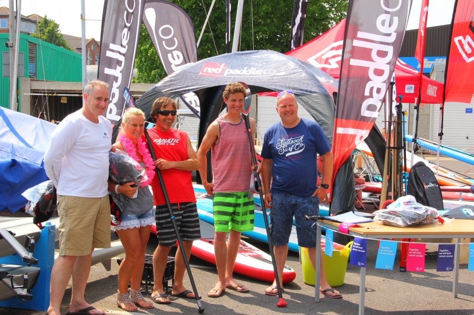 Brands at SUP for Cancer