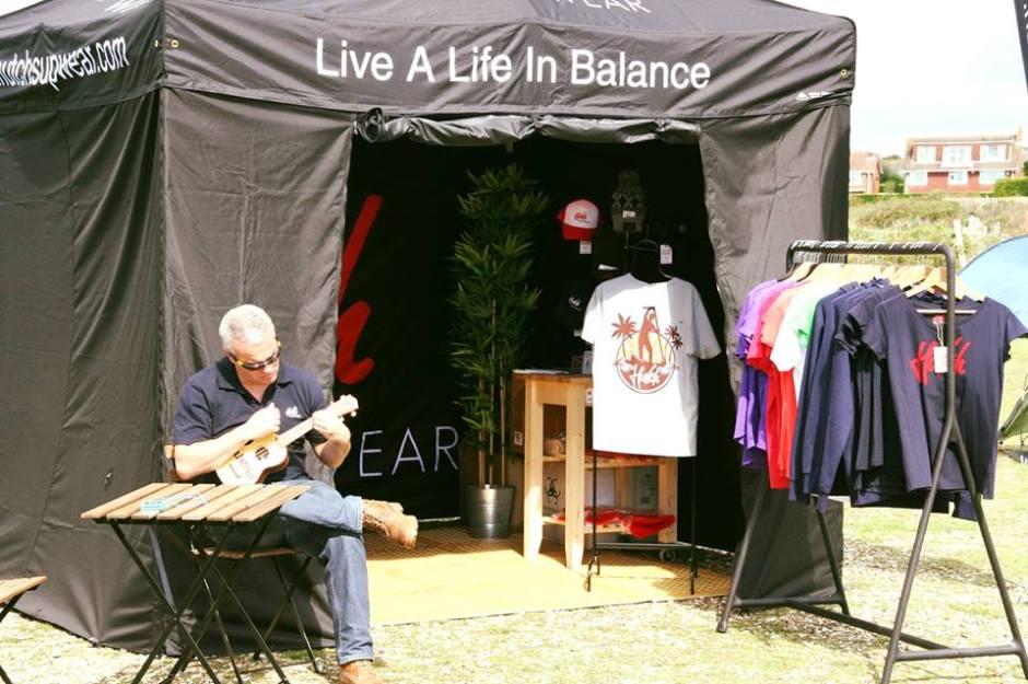 Live a life in balance - Hutch SUP Wear