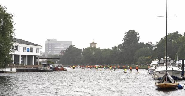 N1SCO racing, The Thames, London