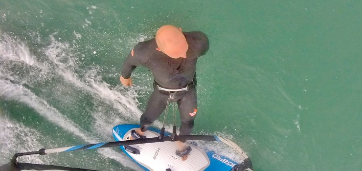 NCW windsurf suit sample