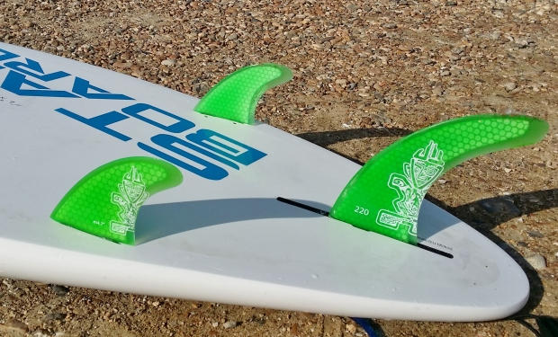 Starboard Wide Point 11.2ft fin configuration