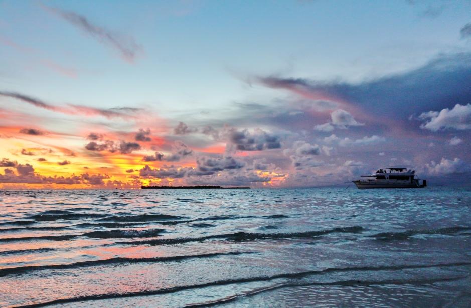 Maldives boat View
