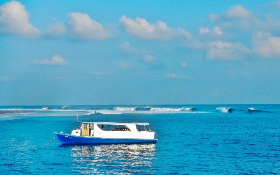 Maldives Break View