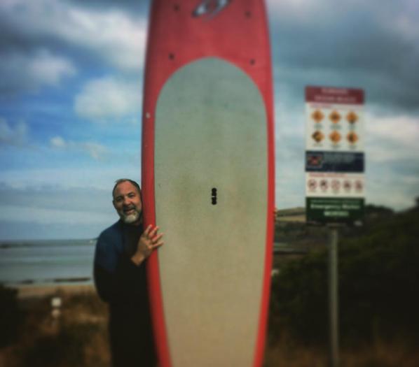Carl Prechezer surf