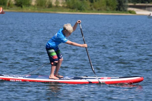 Wee Plume paddling