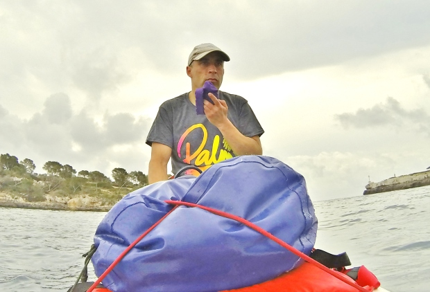 Dean Dunbar SUP rest stop Mallorca