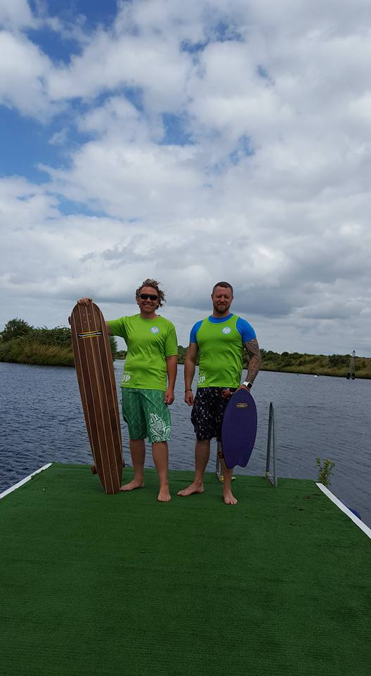 Chris Kenyon and crew land paddle time!