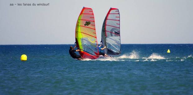 Toddy slalom windsurfing