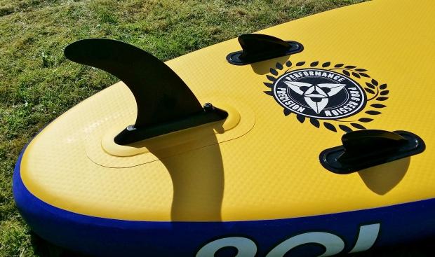 O'Shea 10.6ft fin configuration
