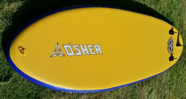 O'Shea 10.6ft hull profile