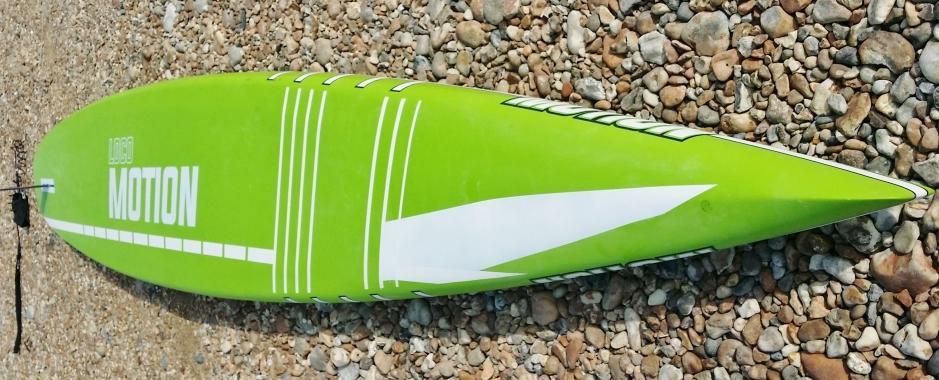 Loco Motion 14ft hull profile