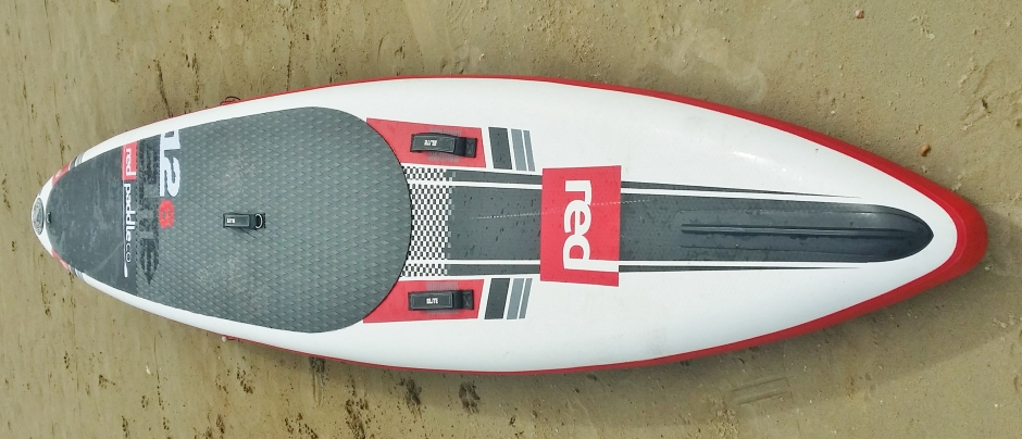 Red Paddle Co Elite 12.6ft deck profile