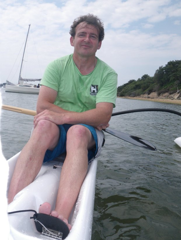 Outrigger: In it for the fun – UK OC1 paddling with John