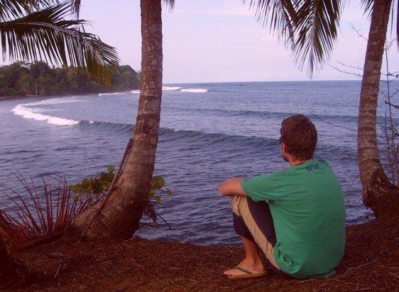 Charlie surf gazing