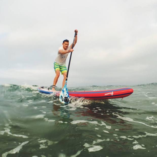 David Walker Paddle Logger