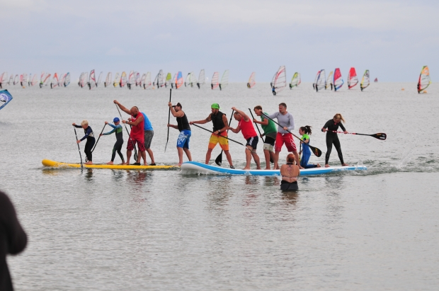 NWF giant SUP racing