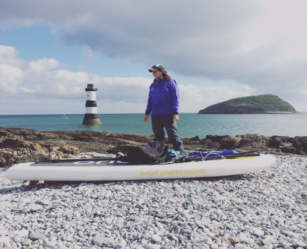 Sian Sykes adventure SUP