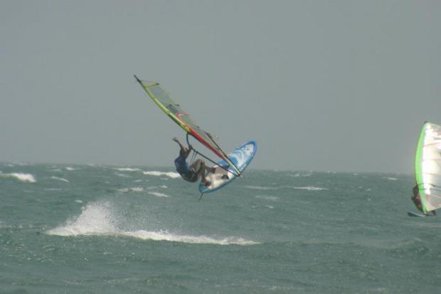 John Hibbard windsurfing
