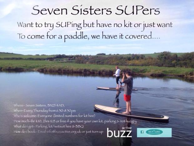 Neptune SUPs Seven Sisters SUP CLub
