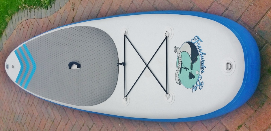 Freshwater bay Paddleboard Co inflatable deck