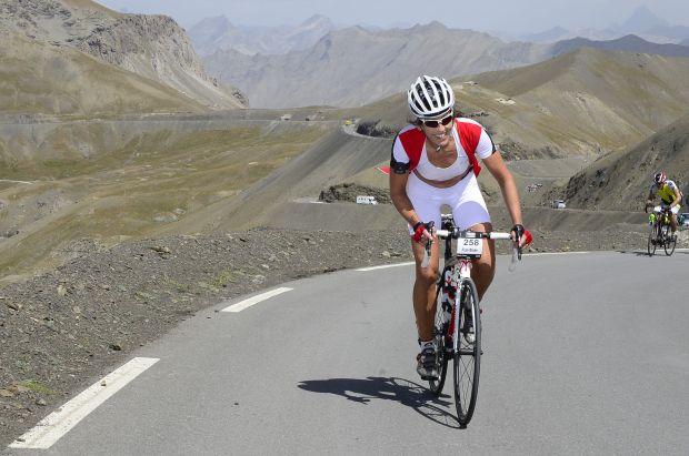 Fran Blake cycling