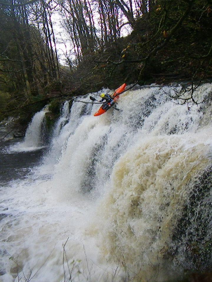 Ben Payne kayaking