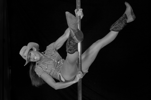 Fran Blake on the pole