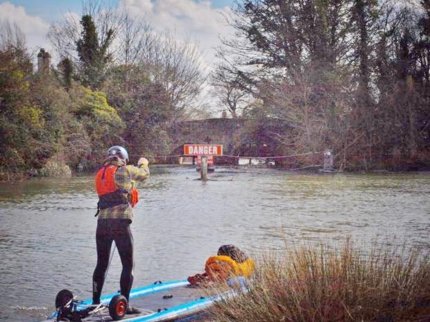Adam D Short Nile paddling