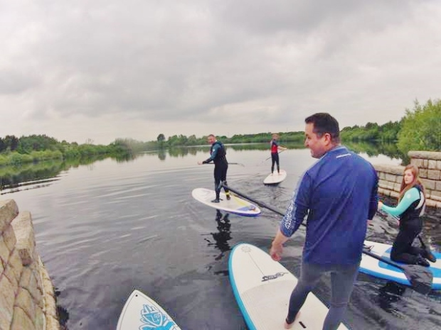Chasewater SUP Club social
