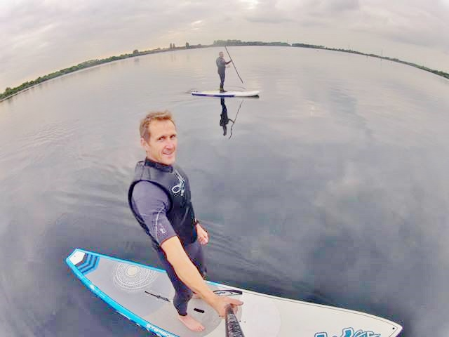 Doug from Boardwise Chasewater SUP Club