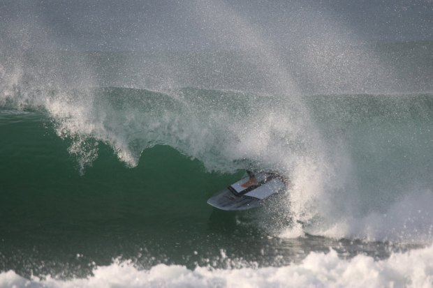 French SUP barrel #2