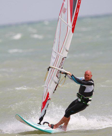 Krafty windsurfing