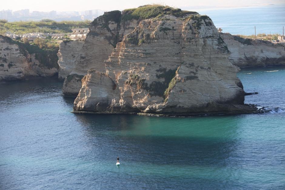Lebanon by SUP
