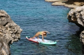 Sarah Hebert Lebanon SUP Yoga