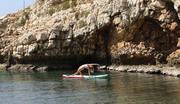 Sraha Hebert Lebanon SUP Yoga