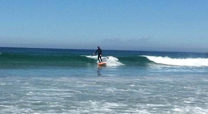 Steve Williams SUP surfing