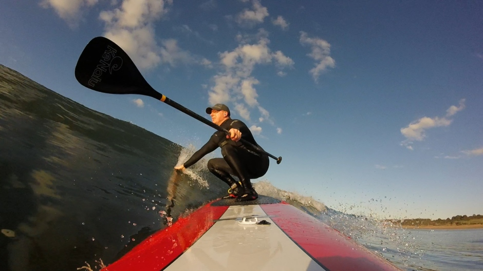 Steve Williams gliding
