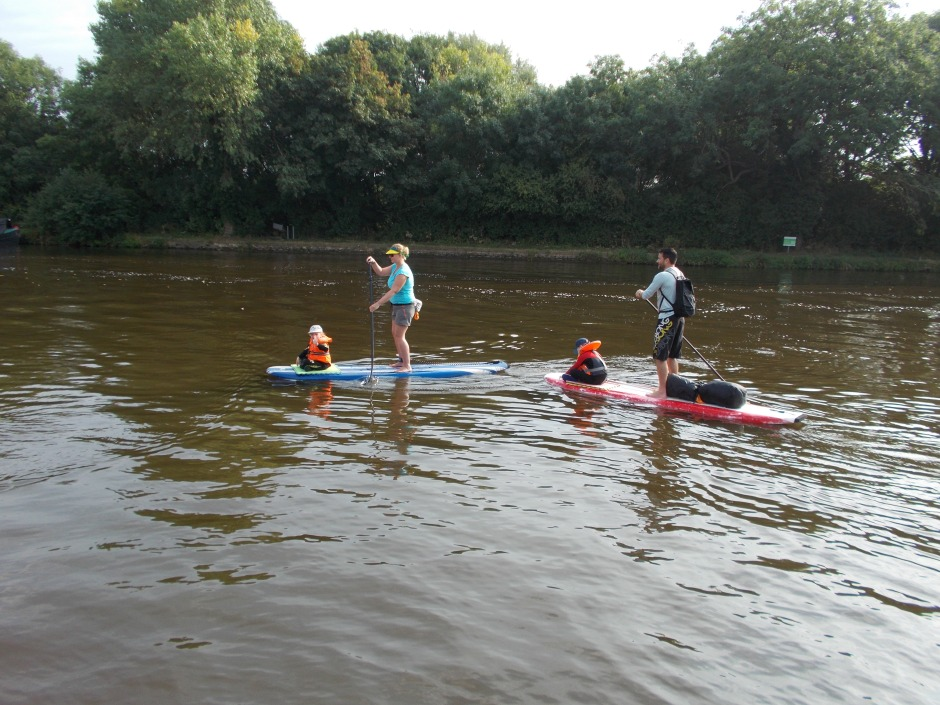 Carr family SUP tours