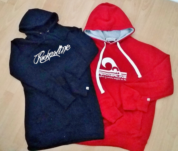 Rockerline Script his n her hoodies