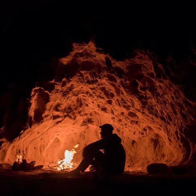 Charlie Head fireside