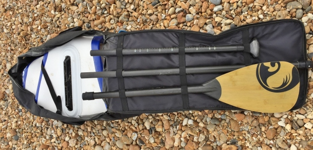 McConks 12.8ft Tour paddle and bag