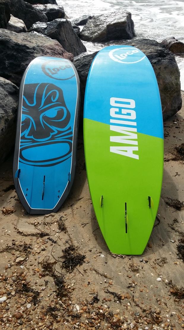 Loco Aztec and Amigo hull