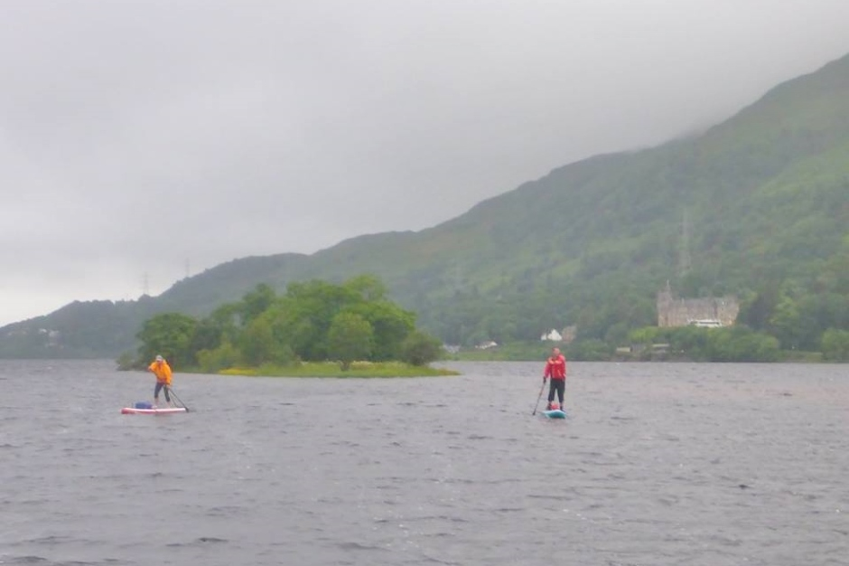 Downwind on the Three Lakes Challenge