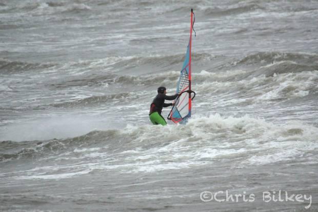 Allan Cross wave sailing