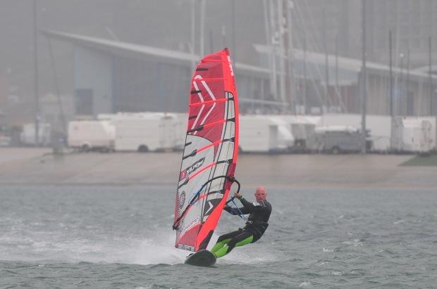Weymouth windsurfing with Allan Cross