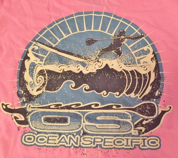 Ocean Specific 2017 ladies tee