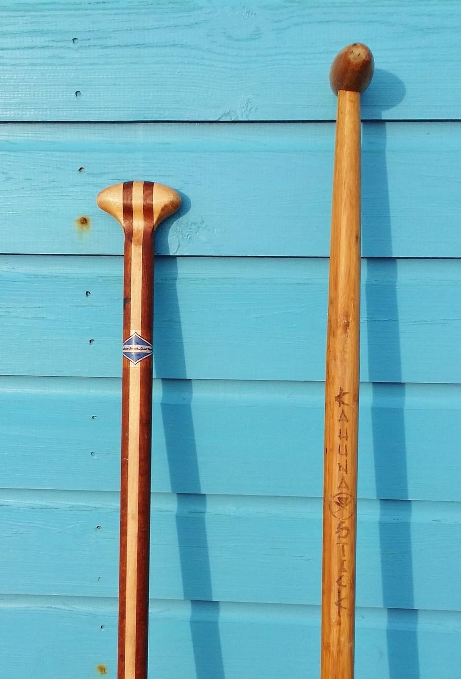 Land paddle shaft length
