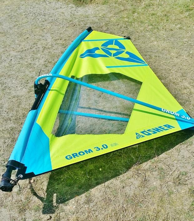 O'Shea Grom windSUP rig